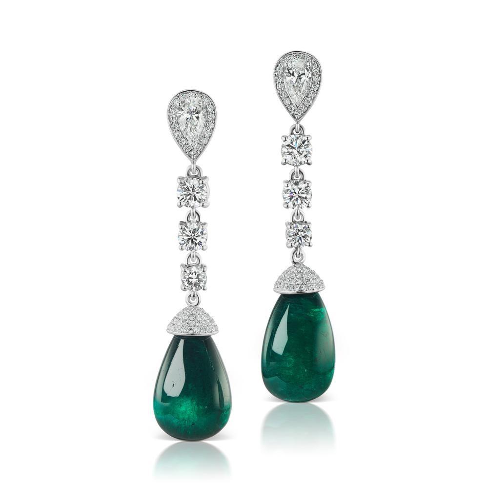 The Emerald Alor Earring